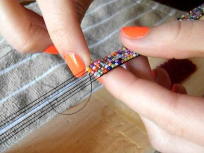 Making a Bead Loom Bracelet