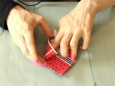Nina Levett : : How to make Origami Paper Star Box