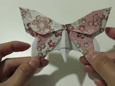 Origami Butterfly Series #2: Alexander Swallowtail Instructions