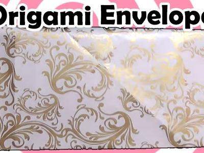 Origami Envelope instructions