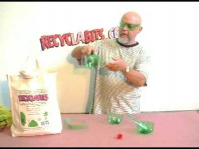 Plastic bottle hopper game