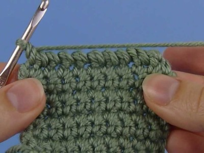 Reverse Single Crochet (left-handed version)