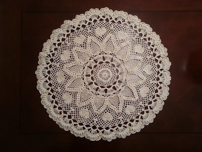 Romantic Pineapple Doily Part 1