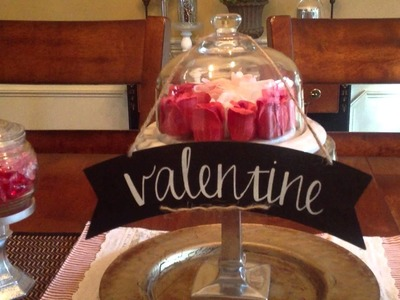 Valentines DIY Dollar Tree Decor Tablescape