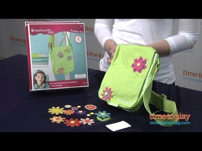 American Girl Crafts Fun Fabric Bag from EKSuccess Brands