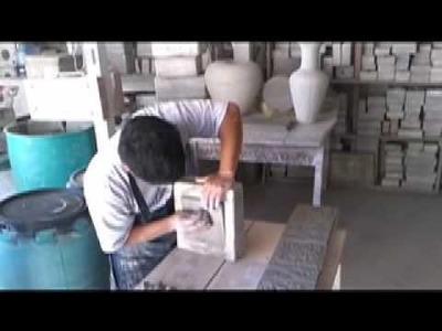 Ceramic Tiles - Making Relief Tiles