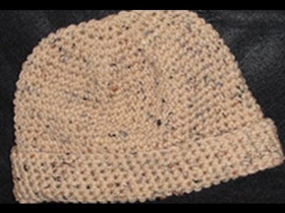 Crochet Beanie Hat Left Hand - Crochet Geek