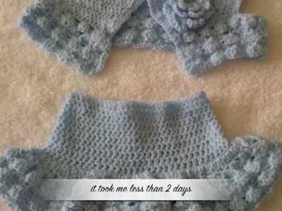 Crochet Child's 2 piece Sundress