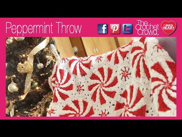 Crochet: Peppermint Throw