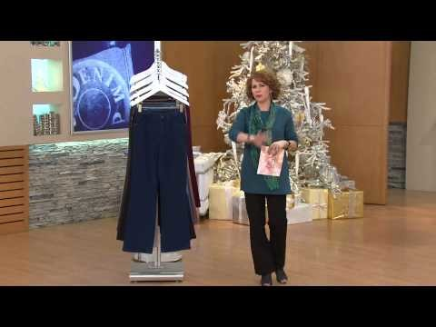 """Denim & Co. """"How Comfy"""" Tall Boot Cut Knit Jeans with Sandra Bennett"""