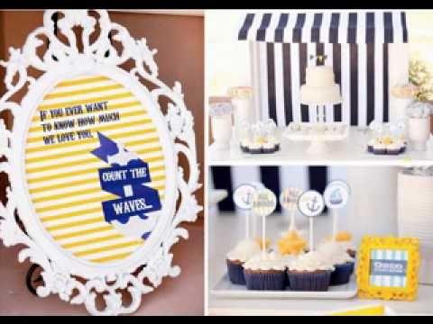 DIY Baby Boy First Birthday Party Themes Ideas