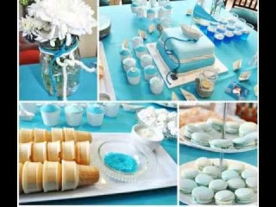 DIY Christening party decorating ideas