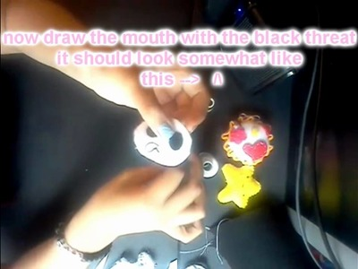 DIY: Cute panda Key chain.phone charm.plushie ^-^