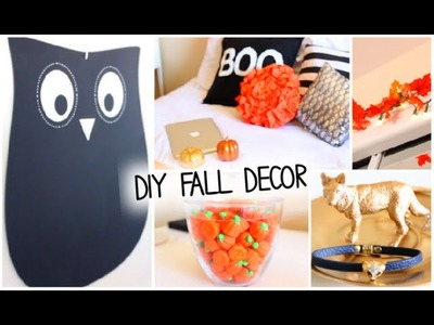 DIY Fall & Halloween Room Decor + Ways to Decorate! 2014