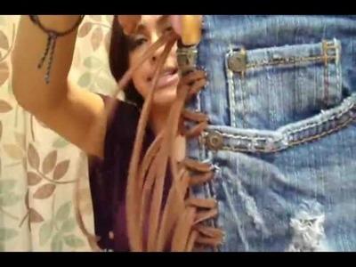 DIY: Fringe Shorts