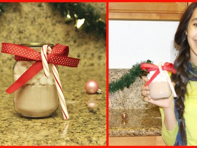DIY: Hot Chocolate Jar Gift Idea! Ep.1: 12 Videos of Christmas