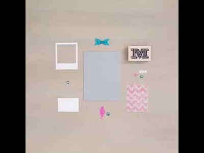 DIY Mother's Day Card - Pink Chevron