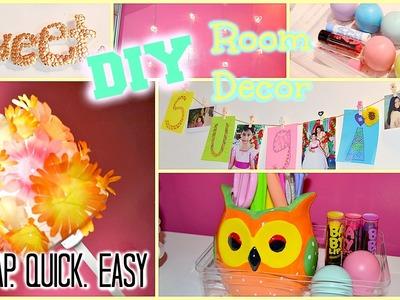 DIY Room Decor & Organization! Super Cheap & Easy!