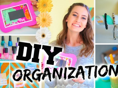 DIY Room Organization + Easy Ways to Organize!