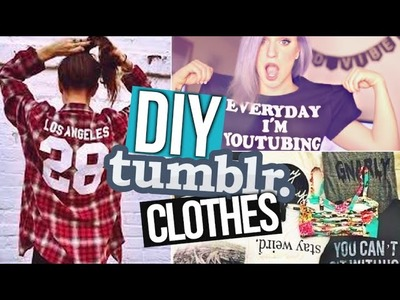 DIY Summer Shirts! ☀ Tumblr Inspired