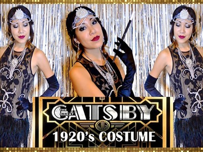 DIY The Great Gatsby-1920's Costume!