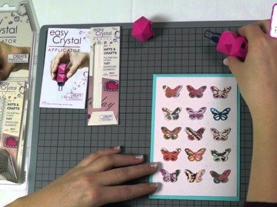 Easy Crystal Arts & Crafts Turorial