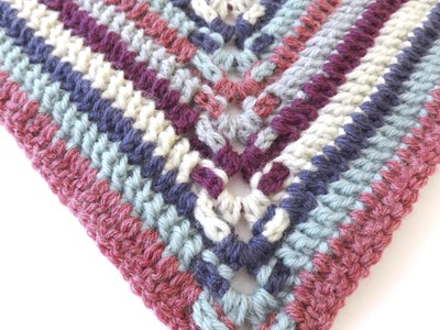 Episode 129: How To Crochet the Alpine Steps Square