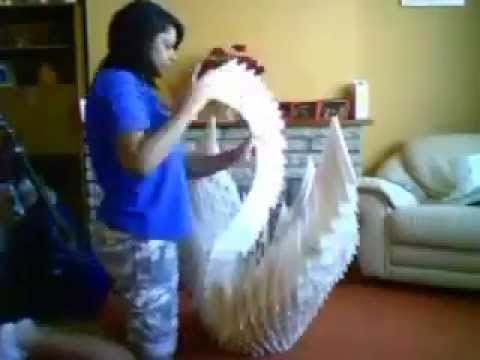 Extreme Origami - Giant Swan