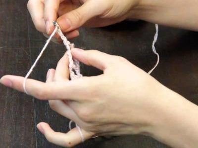 How to Crochet a Bridal Garter : Crochet Tutorials