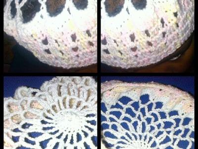 How to crochet hair net