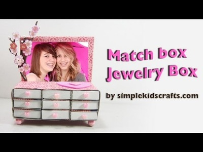 How to make a matchbox Jewelry with drawers - EP