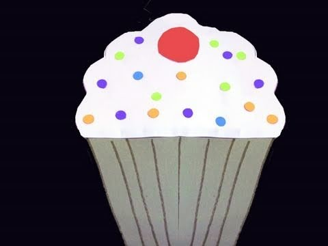 How to make a paper Cupcake - EP