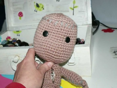 How to make a Sackboy on crochet - Pattern-easy!