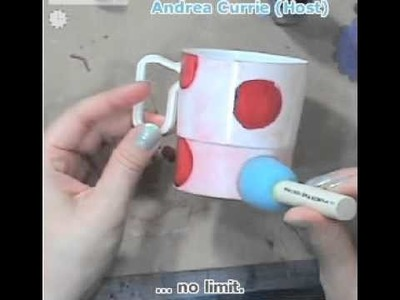 How To Make Cute Tea Party Party Favors (Andrea Currie Crafts)