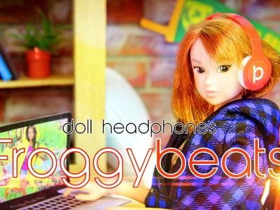 How to Make Doll Designer Headphones - Doll Crafts