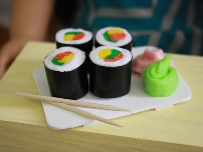 How to Make Doll Sushi