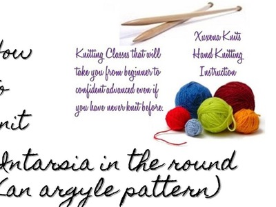 Intarsia Knit in The Round