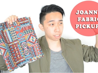 Jo-Ann's Fabric PICKUP! | Aztec.Rose print and JERSEY KNIT