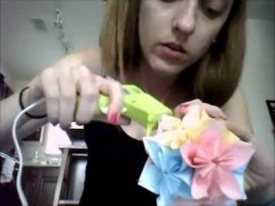 Kusudama Origami Paper Flower Ball