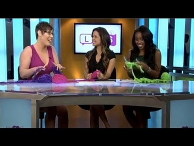 Liat Gat on  Life, Love, Shopping (National Show) - How Knitting Can Save Your Life