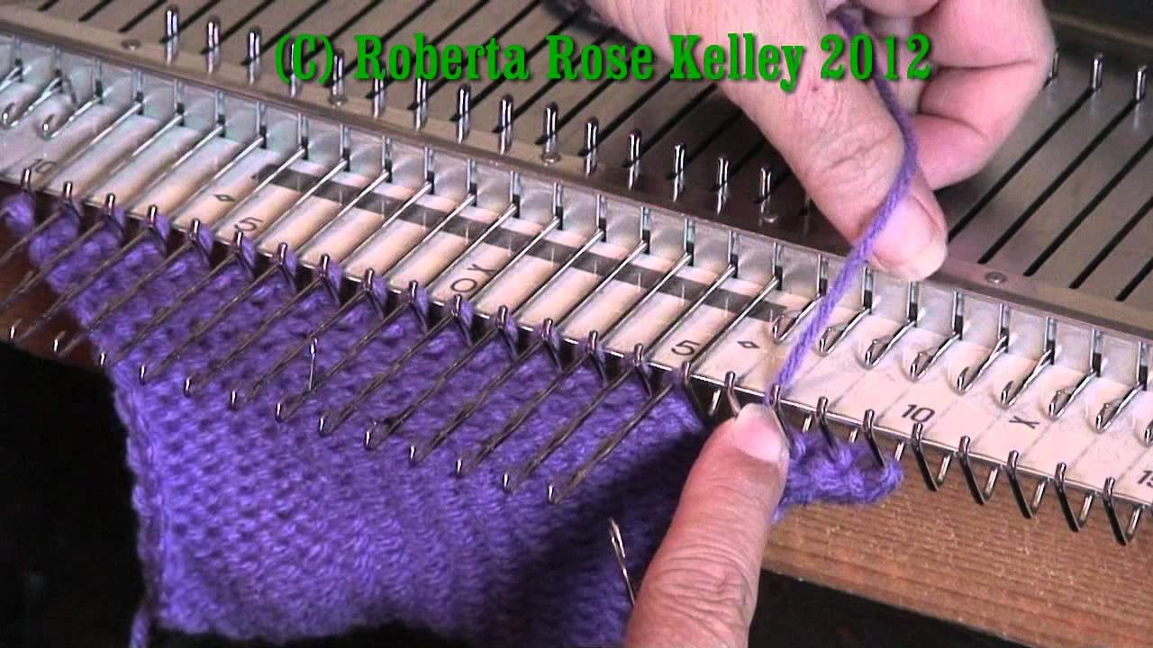 Looser Latch Tool Cast on and Bind off