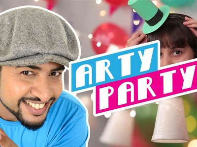 Mad Stuff With Rob – Party Special | DIY Party Hats, Party Lights & More | DIY Craft for Children