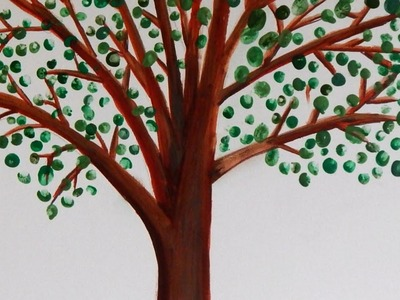 Make a Beautiful Keepsake Fingerprint Family Tree - DIY Crafts - Guidecentral