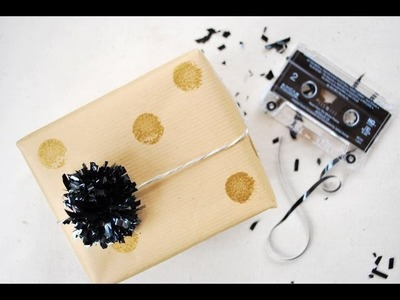 Make Party Decorations from VHS & Cassette Tapes