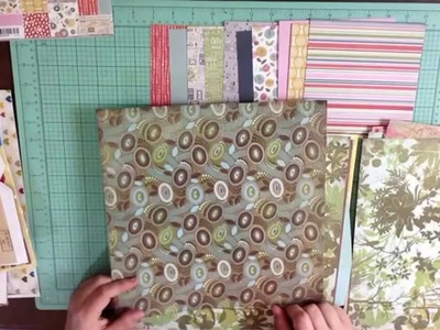 Make Your Own Scrapbook Kit with a 6x6 Paper Pad