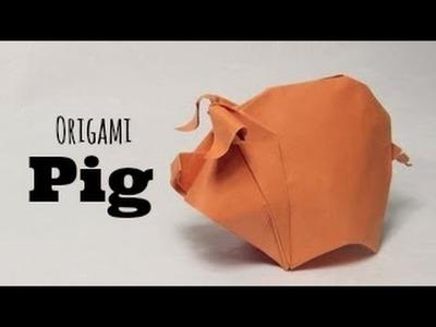 Origami Pig. Piggy  (Hoàng Tiến Quyết)