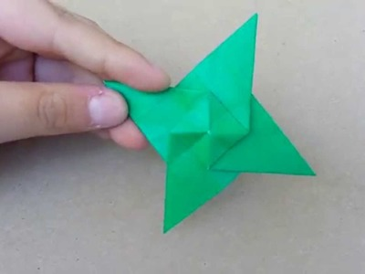 Origami Super Spinning Ninja Star, Designed By Jeremy Shafer - Not A Tutorial