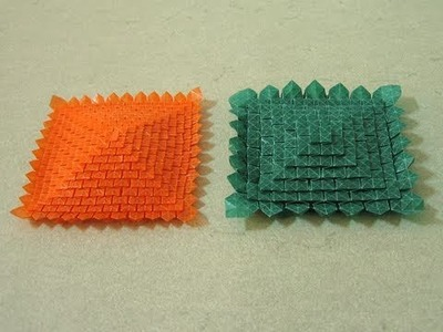 Origami Tessellation Instructions: Multi-Stage Clover Folding (Shuzo Fujimoto)
