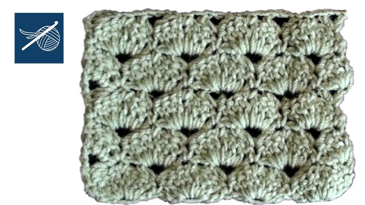 Sea Mist Stitch Baby Blanket, Shawl, Scarf Crochet Geek Left Hand