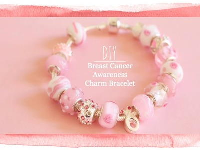 Show Your Support With This DIY Breast Cancer Awareness Bracelet